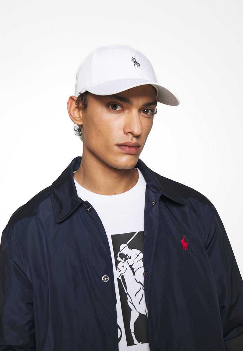 Polo Ralph Lauren - BASELINE UNISEX - Czapka z daszkiem - white