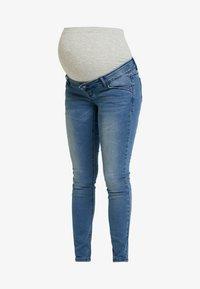 MAMALICIOUS - MLSARNIA - Slim fit jeans - medium blue denim - 3