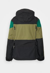 The North Face - STEEP TECH APOGEE JACKET - Wiatrówka - burnt olive green/evergreen/black - 1
