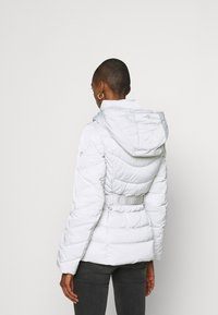 Guess - SARA SHORT JACKET - Down jacket - marble grey - 0