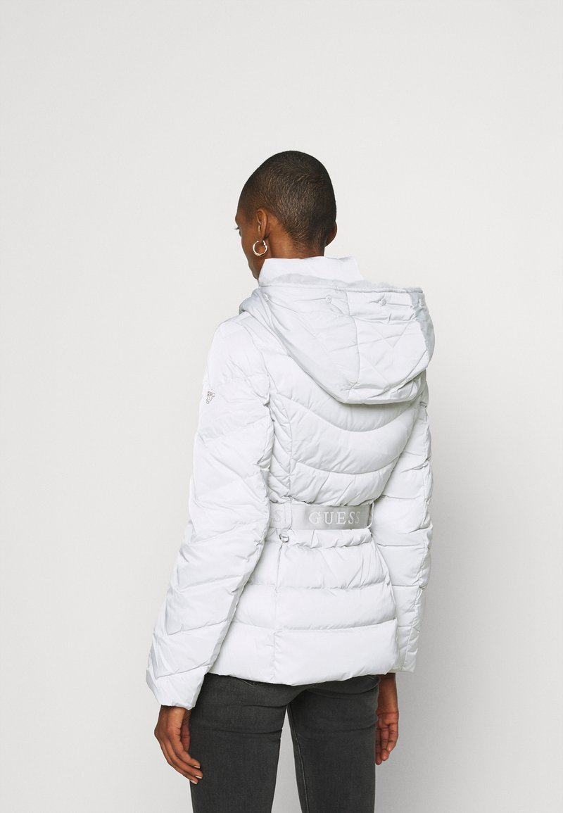 Guess - SARA SHORT JACKET - Down jacket - marble grey
