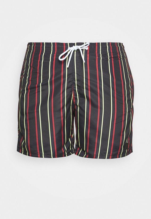 STRIPE SWIM - Swimming shorts - midnightnavy