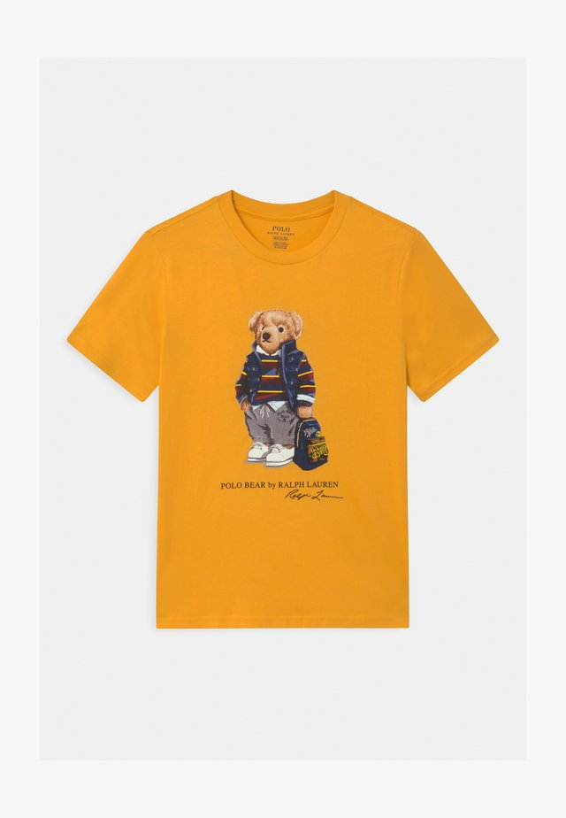 T-shirt con stampa - gold bugle