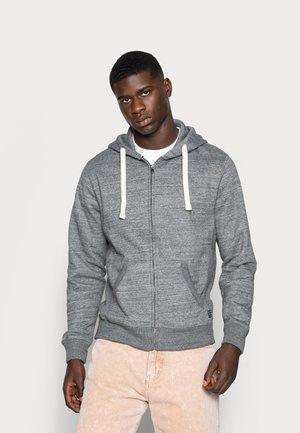Zip-up sweatshirt - pewter mix