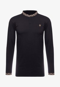 SIKSILK - LONG SLEEVE CHAIN  - Long sleeved top - black/gold - 3
