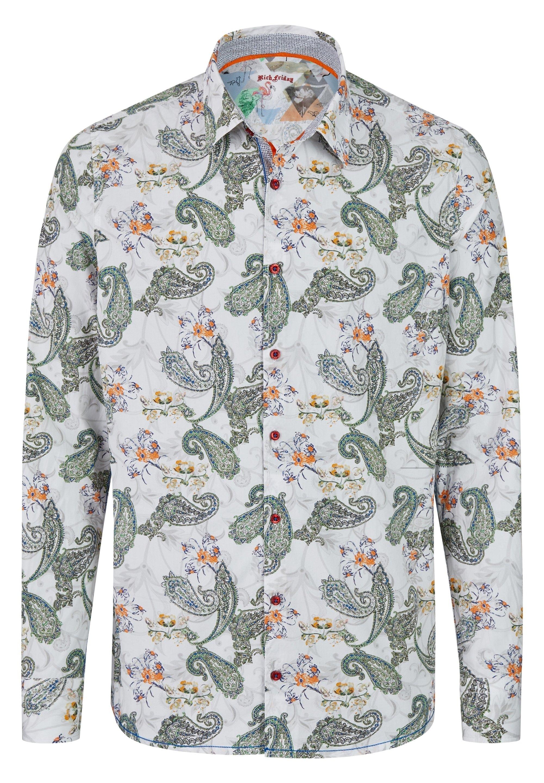 Rich Friday LANGARMHEMD MIT PAISLEY-MUSTER - Hemd - mehrfarbig | Herrenbekleidung 2020