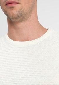 Selected Homme - SHHNEWDEAN CREW NECK - Jumper - egret - 4