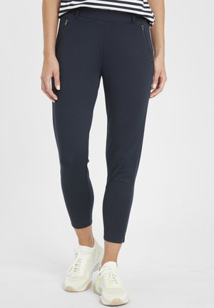 IHKATE ZIP PA - Trousers - total eclipse