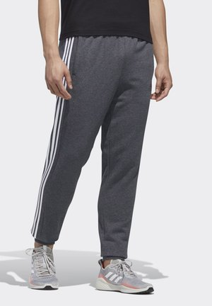 ESSENTIALS COLORBLOCK JOGGERS - Tracksuit bottoms - grey
