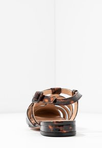 Topshop - OLIVE OPEN SHOE - Sandals - tortoise - 5