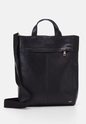 ZAHMAD LEATHER - Tote bag - black