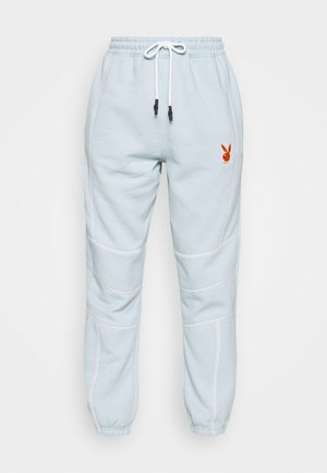 PLAYBOY CONTRAST STITCH - Pantalon de survêtement - dusky blue