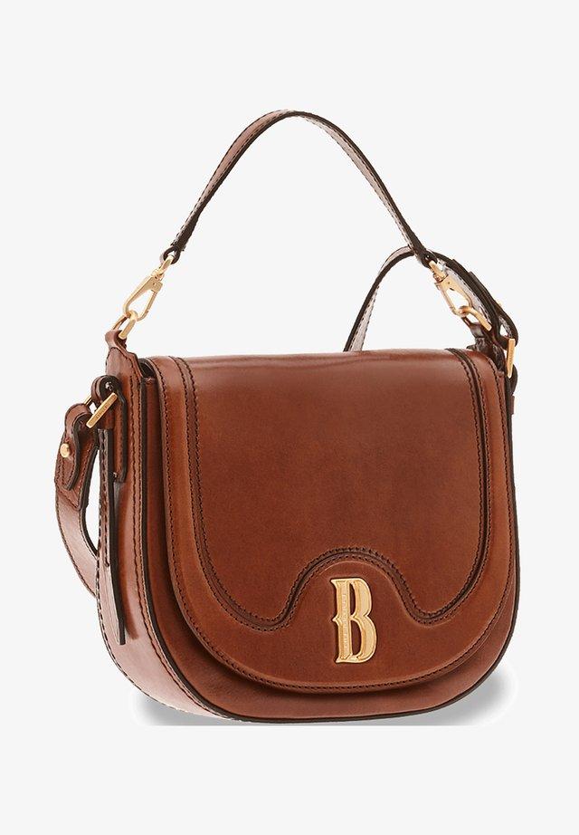 FRANCESCA - Across body bag - marrone