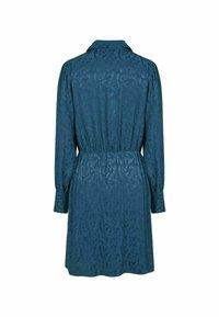 NAF NAF - Shirt dress - blue - 4