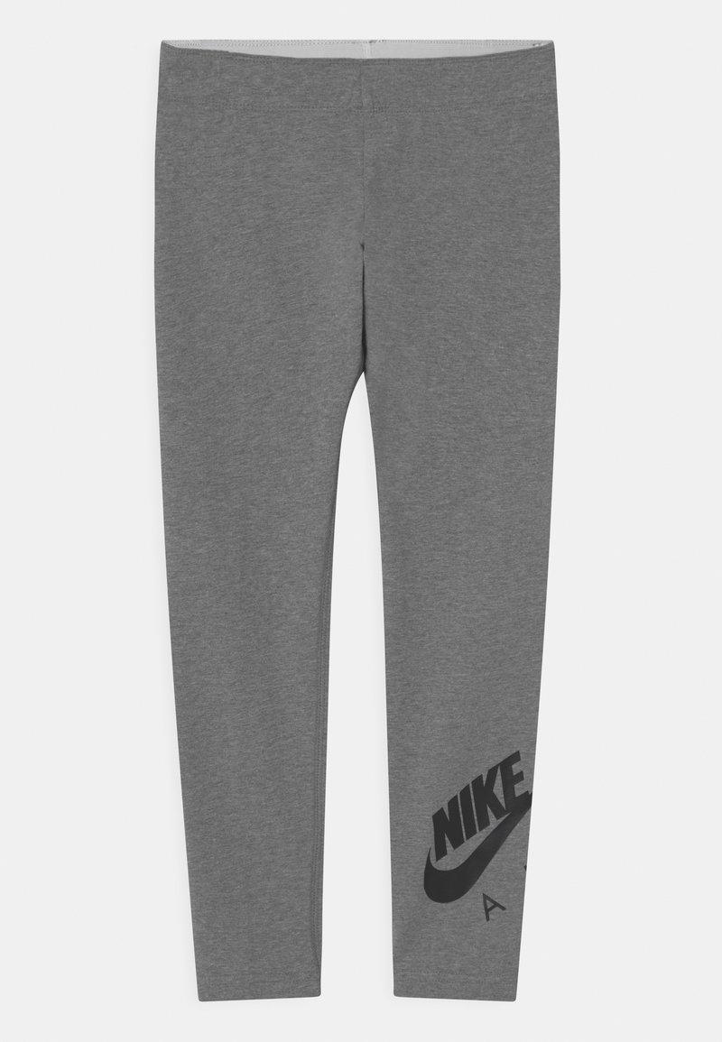 Nike Sportswear - FAVORITES - Leggings - Trousers - carbon heather/black