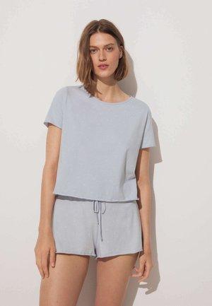 Pyžamový top - light blue