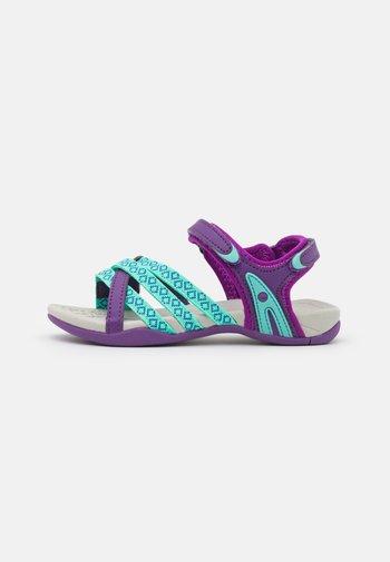 SAVANNA UNISEX - Walking sandals - purple