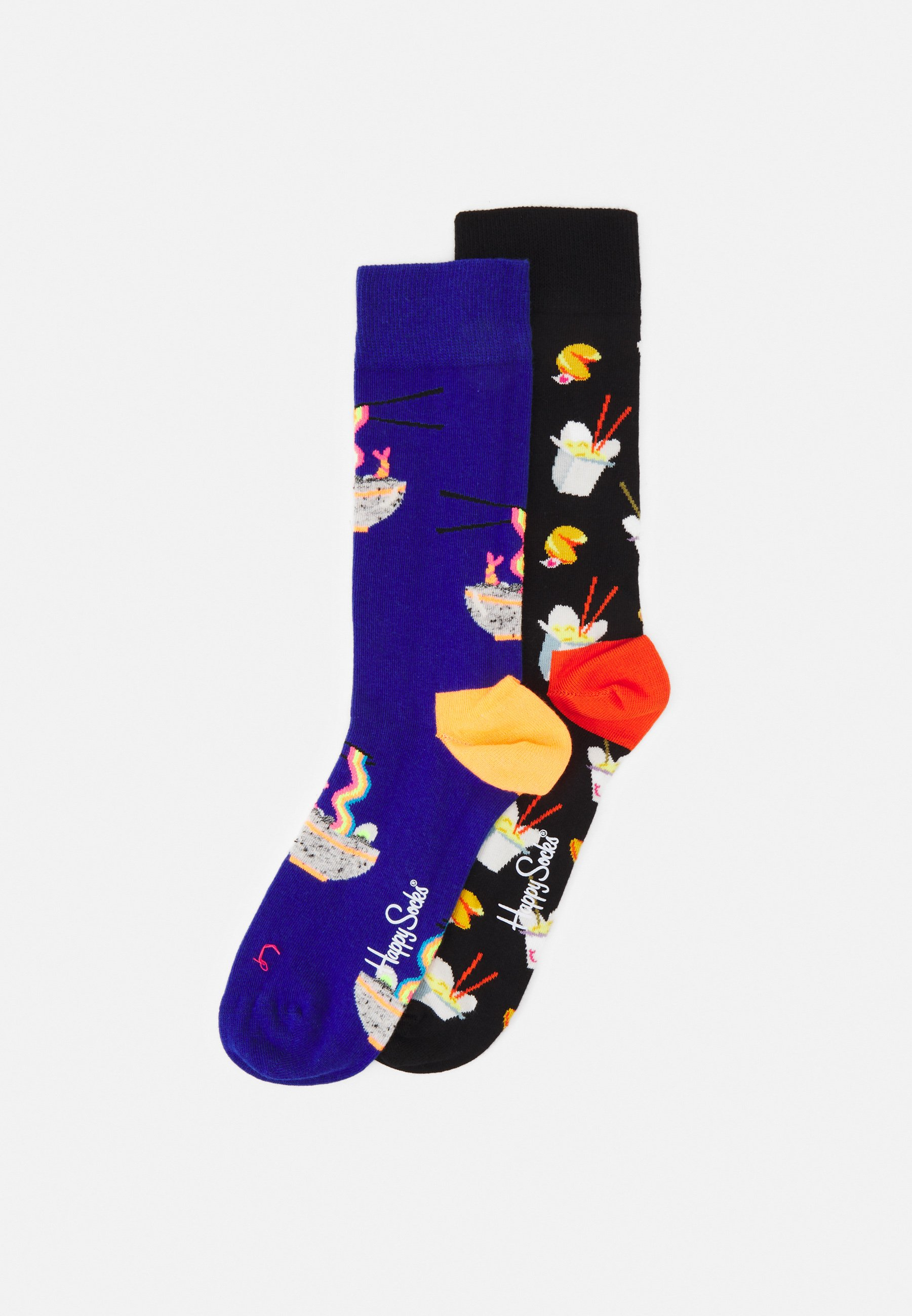 Femme RAINBOW RAMEN TAKE OUT 2 PACK UNISEX - Chaussettes