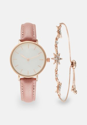 SET - Watch - pink/rose gold-coloured
