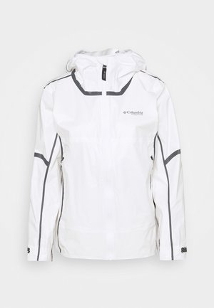 OUTDRY EXTREME™ NANOLITE™ SHELL - Waterproof jacket - white