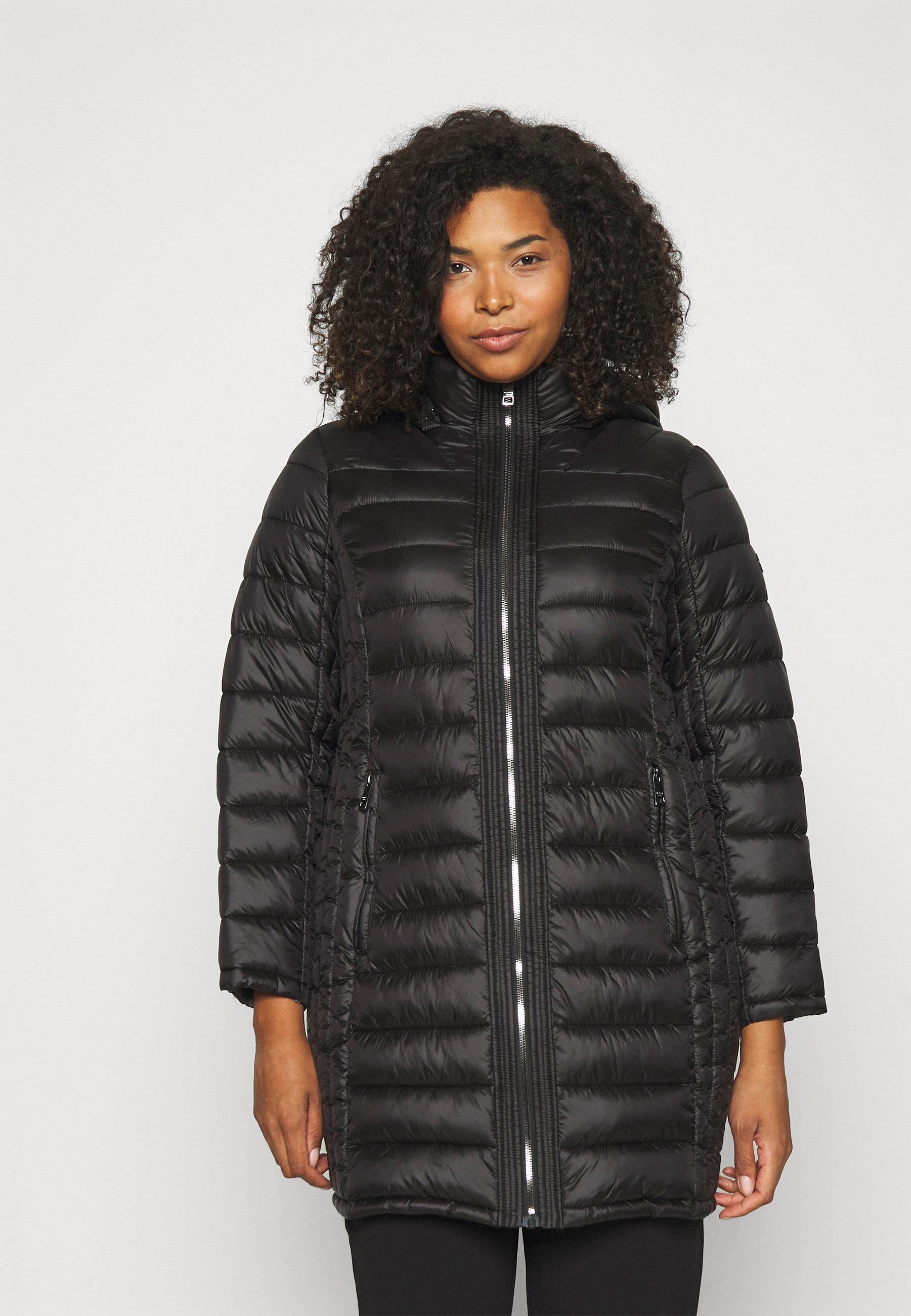 Women ZIP FRONT REMOVABLE HOOD - Short coat