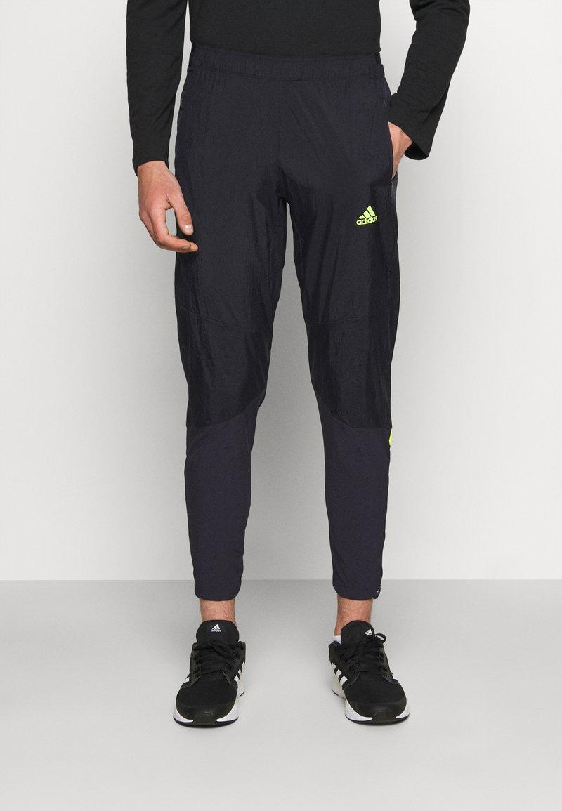 adidas Performance - ULTRA PANT - Trainingsbroek - black/yellow