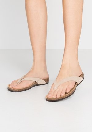 TISTOIS - T-bar sandals - beige