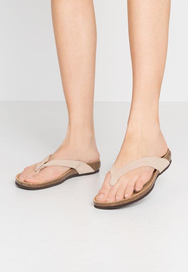 TISTOIS - Sandalias de dedo - beige