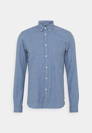 Shirt - mid blue melange