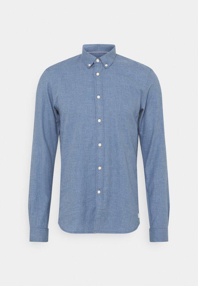 Camisa - mid blue melange