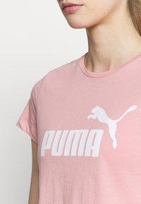Puma - LOGO TEE - Camiseta de deporte - bridal rose - 4