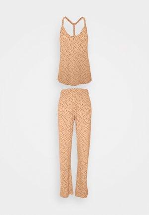 ONLKALA STRAP NIGHTWEAR SET - Pyžamo - cork