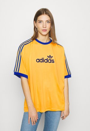 TEE - Print T-shirt - active gold