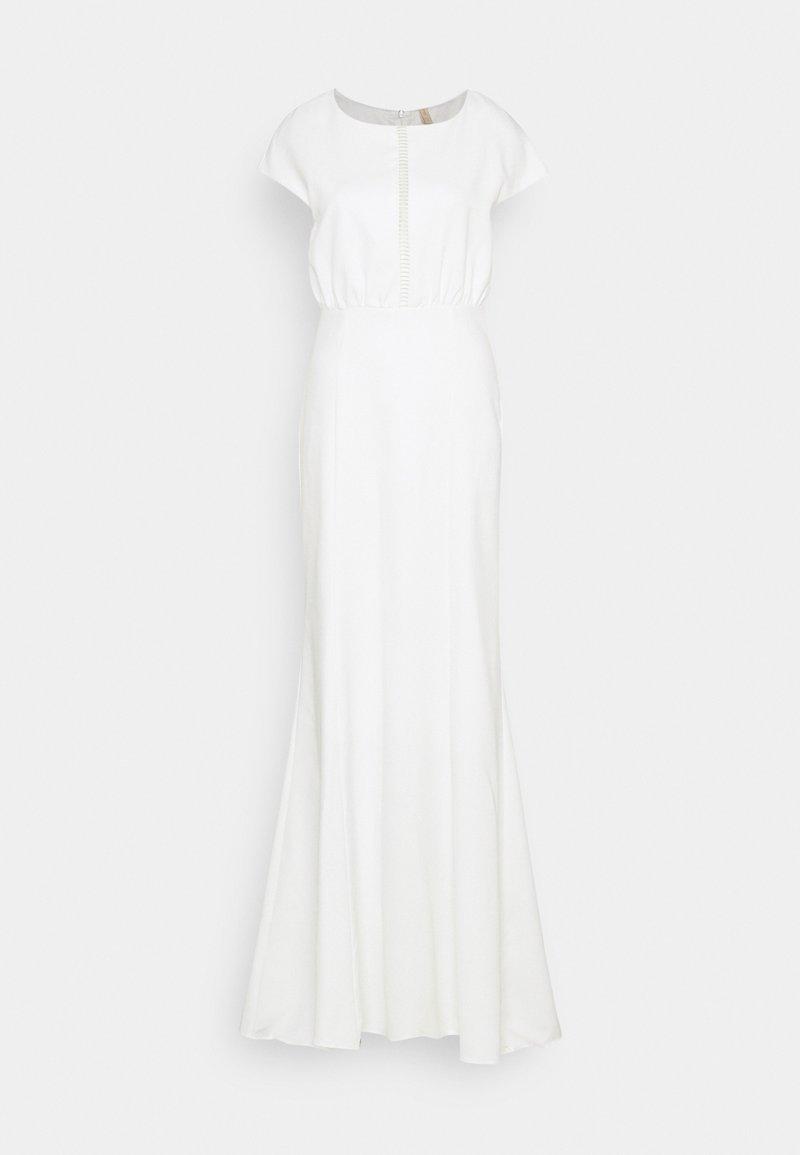 YAS - YASWESLEE MAXI DRESS CELEB - Společenské šaty - star white