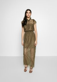 DESIGNERS REMIX - VANESSA LONG DRESS - Suknia balowa - khaki - 1