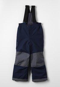 Vaude - KIDS SNOW CUP PANTS - Snow pants - eclipse - 0