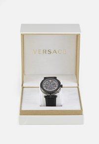 Versace Watches - GRECA - Chronograph watch - black - 5