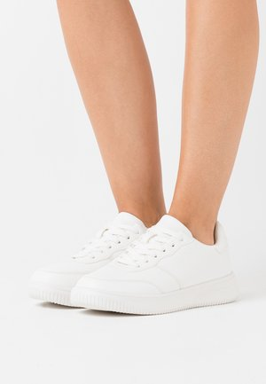 WIDE FIT ALICE - Sneakers basse - white