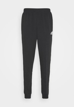 ESSENTIALS TRAINING SPORTS PANTS - Trainingsbroek - black/white