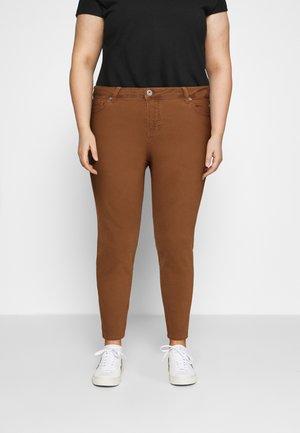 JANN AMY - Jeans Skinny Fit - brown