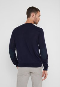 Hackett London - CREW - Strikpullover /Striktrøjer - midnight - 2