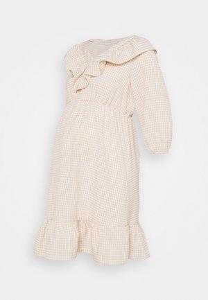MLDELILAH DRESS - Korte jurk - snow white