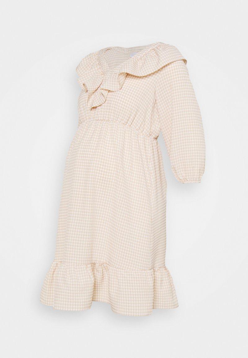 MAMALICIOUS - MLDELILAH DRESS - Day dress - snow white