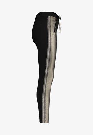 SOSA METALLIC PU 556 - Trousers - taupe