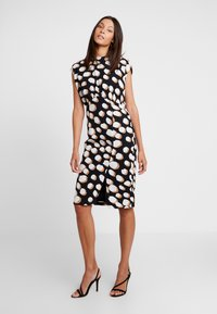 Great Plains London - MARGOT SPOT - Day dress - black/amaretto - 0