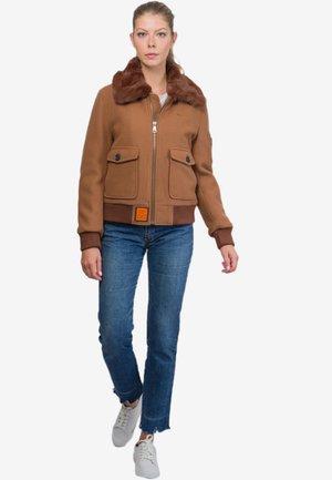 DOUGLAS - Light jacket - camel