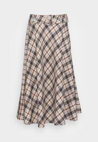 SKIRT MIDI - A-line skirt - truffel brown