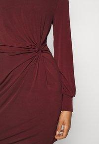Vero Moda - VMTWISTED KNOT SHORT DRESS - Jerseykjole - port royale - 5