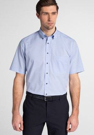 REGULAR FIT - Shirt - light blue/white