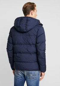 Calvin Klein Jeans - HOODED PUFFER - Down jacket - night sky - 2